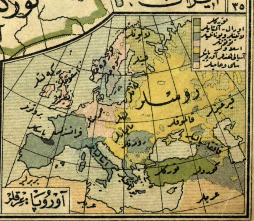 Nazi Map Of Europe.Afternoon Map An Ottoman Map Of Nazi Europe