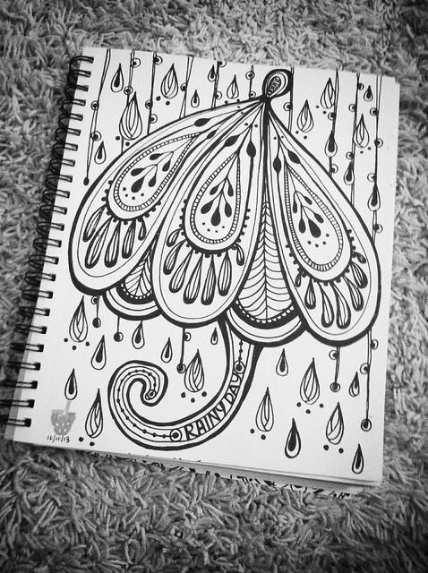 Rainy day doodle sesh