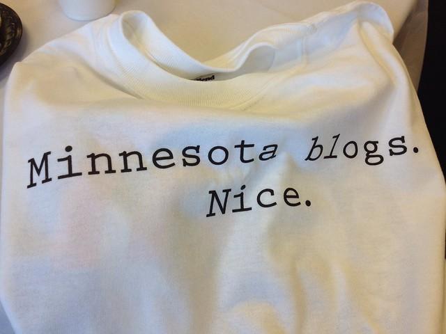 #mnblogcon t-shirt