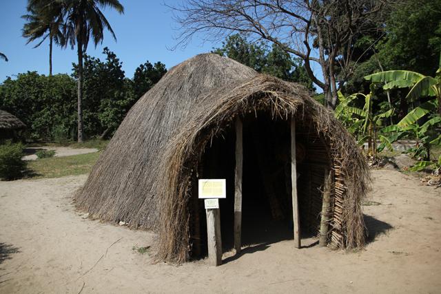 Haya hut
