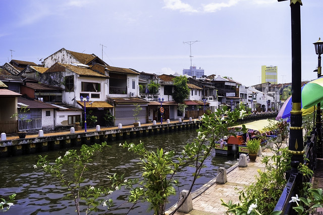 Malacca River, Malaysia by CC user hazara on Flickr