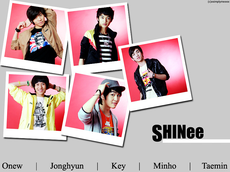 Wallpapers Anime Kpop Shinee Picture 800x600 310352 Anime