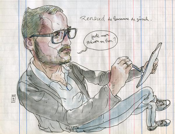 41st sketchcrawl in barcelona