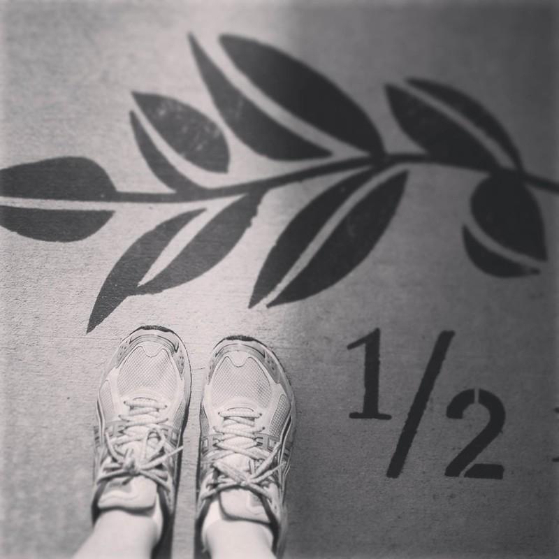 running 1/2