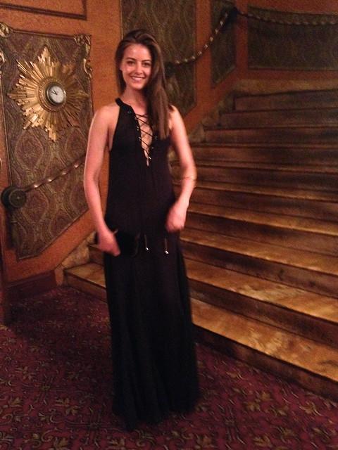 black maxi dress 4