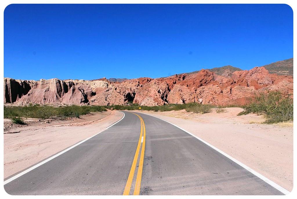 25 quebrada de las conchas argentina road