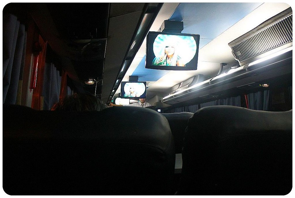 7 argentina bus with tvs