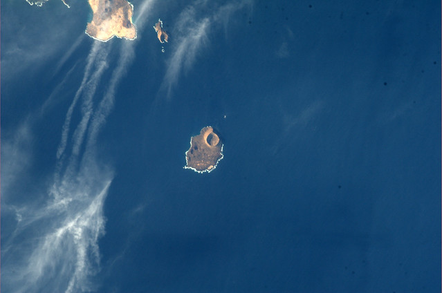 The volcanic nature of the Canarias is evident here