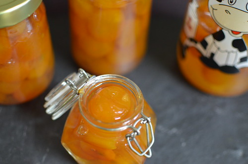 Kumquats in syrup