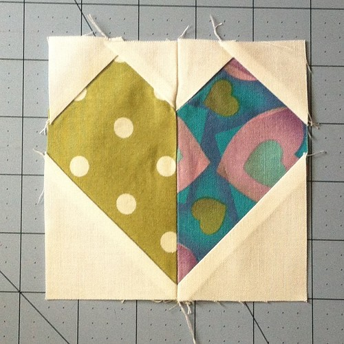 4 inch heart block tutorial -- and MORE! -- on my blog today! The link is in my profile.
