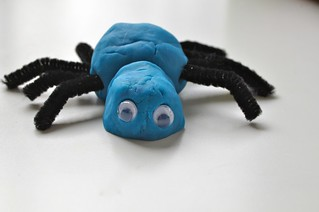 Spider Play Dough