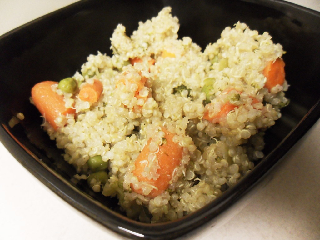 Crock Pot Quinoa & Veggies