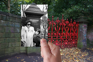 Strawberry Fields Gates, Woolton, 1984 in 2013