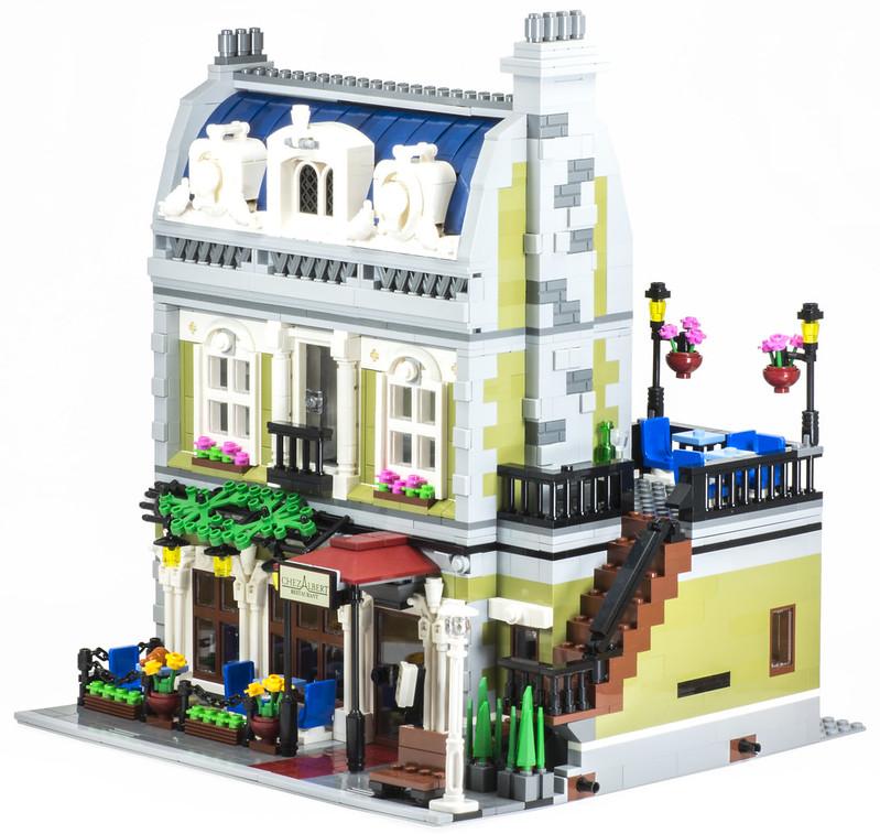 Review 10243 Parisian Restaurant Lego Town Eurobricks Forums