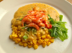 Crayfish Tails with Sweetcorn and Smokin' Che…