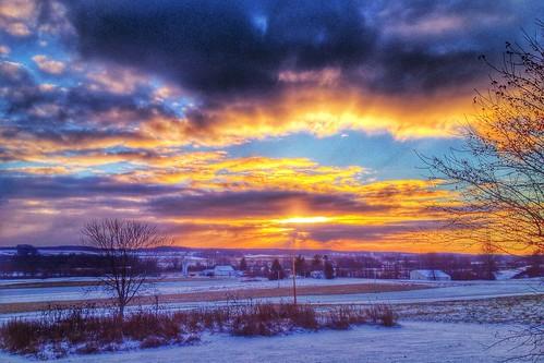 sky clouds sunrise day cloudy