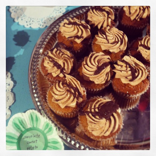 Robicellis Sweet Potato Cupcakes