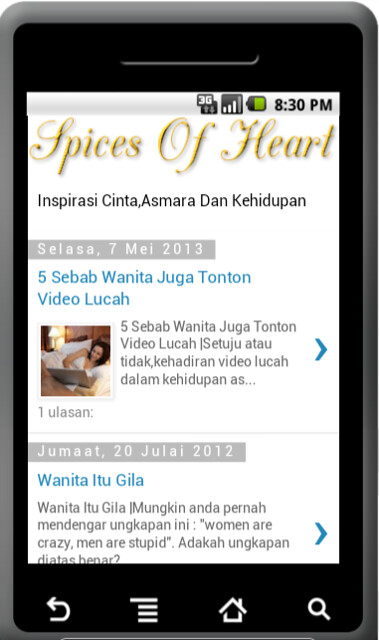 Spices Of Heart/