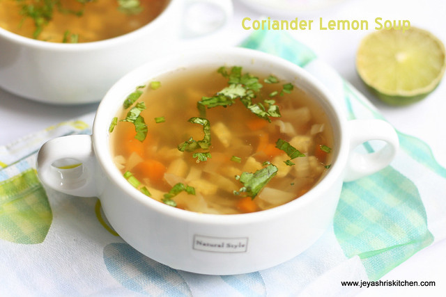 No onion no garlic recipes jain food jeyashris kitchen jeyashris kitchen no onion no garlic recipes jain food updated sept 6 2017 coriander lemon soup forumfinder Gallery