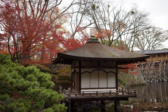 和歌山城西の丸庭園(紅葉渓庭園)