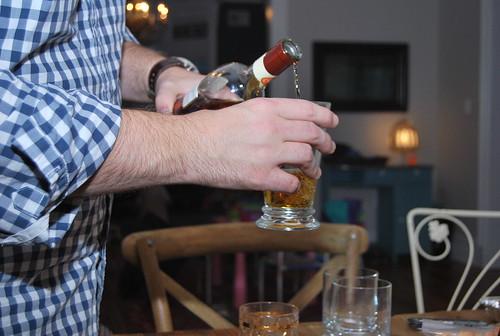T - the pour