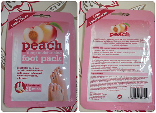 Peach Foot Pack