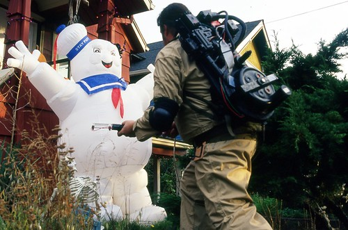 Day 308/365 - Battling Mister Staypuft