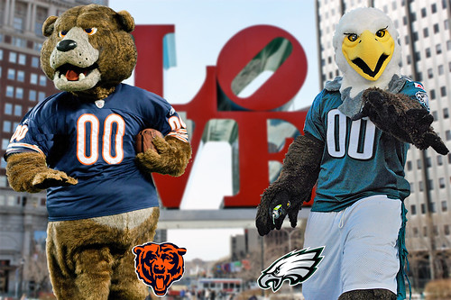 BEARS @ EAGLES VII