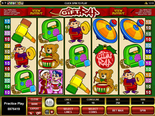 Gift Rap Slot Machine