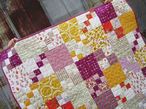Penny Patch baby quilt