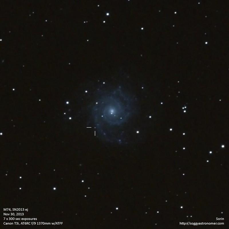 M74-SN2013ej