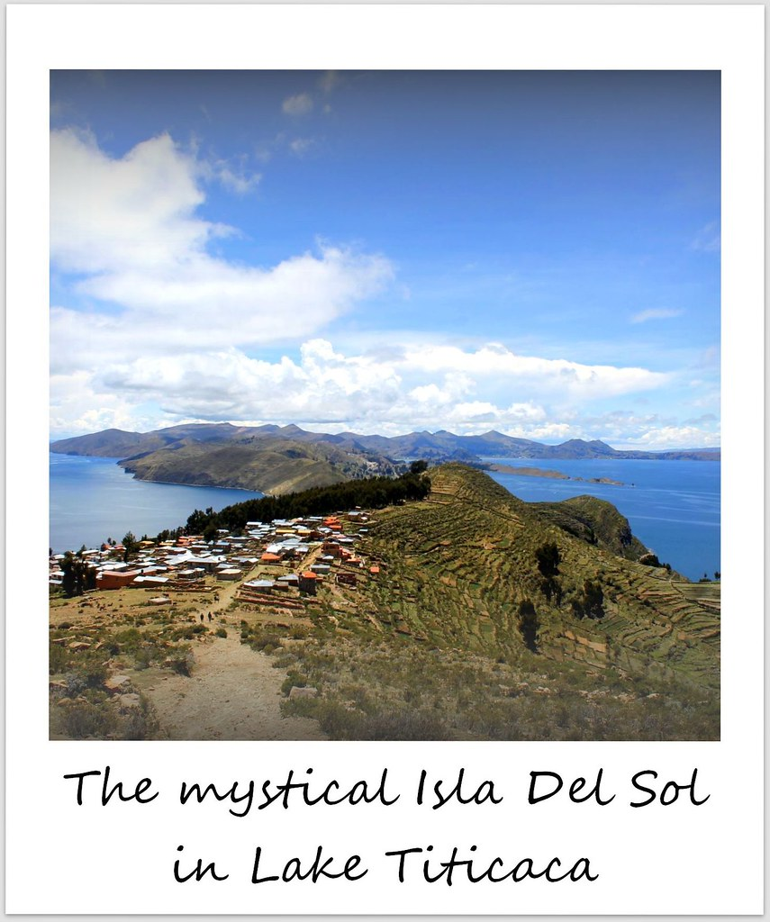 polaroid of the week bolivia isla del sol
