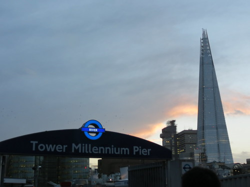 The Shard from Tower Pier