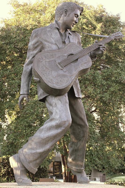 Elvis Statue - Beale Street, Memphis, TN
