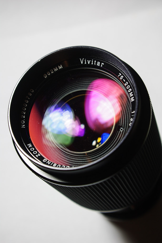 Vivitar 75-205mm f3.8 Macro Focusing