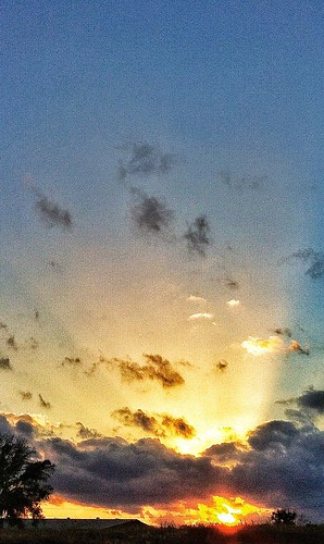 sunset sky orange yellow clouds outdoors sunrays grandeur lakemaryflorida