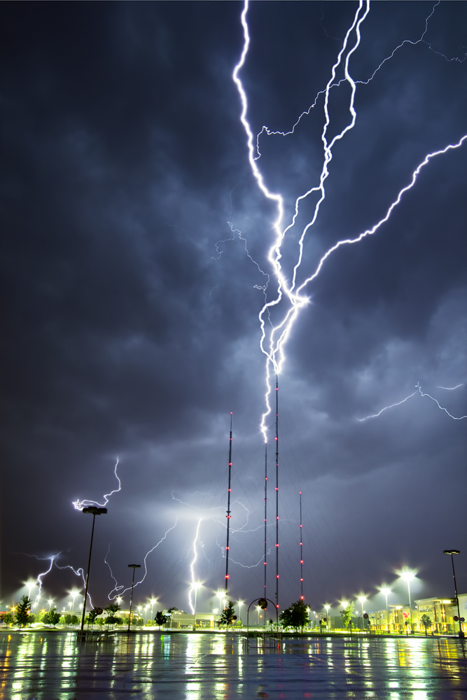 TV Tower Lightning.