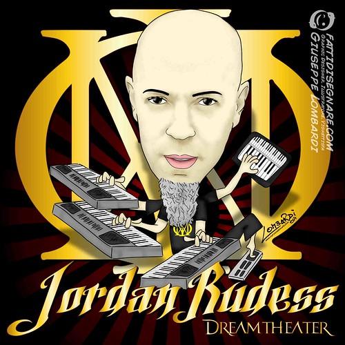 Jordan Rudess by Giuseppe Lombardi