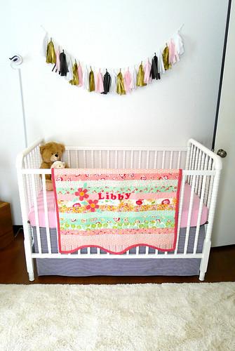 Rug and Crib