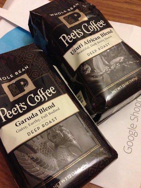 Peet's Coffee Beans