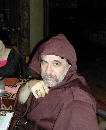 Fabien Vais as a monk