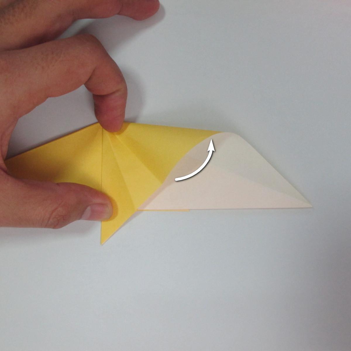 สอนวิธีพับกระดาษเป็นรูปลูกสุนัขยืนสองขา แบบของพอล ฟราสโก้ (Down Boy Dog Origami) 043