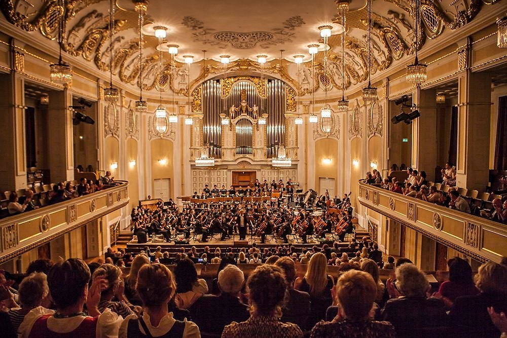 El Camino Youth Symphony performs in the Grosser Saal of the Mozarteum in Salzburg