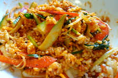 thai fried rice, mie goreng, rice, produce, food, dish, fried rice, cuisine,