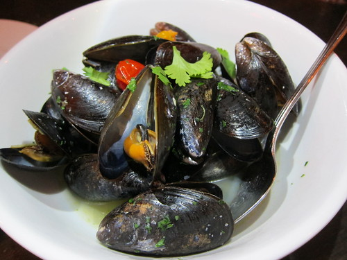 Mussels at Texas French Bread
