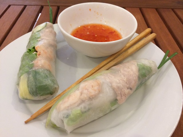 Fresh spring rolls - Sisters Cafe