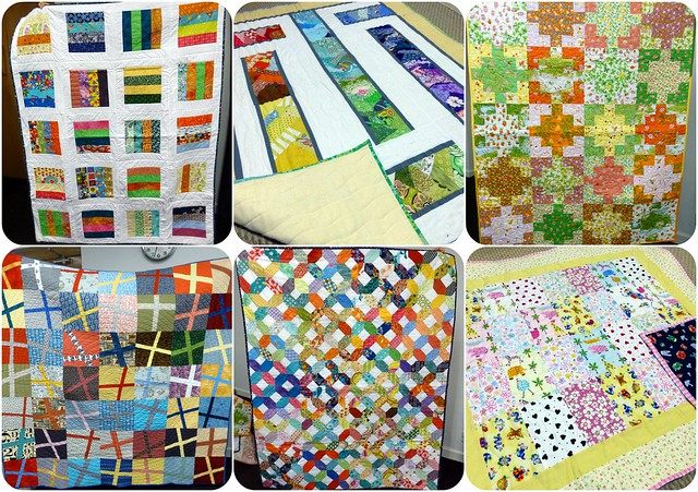 Bee Blessed quilts ready for donation Mar14