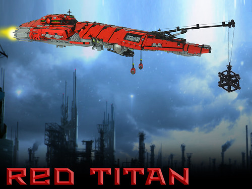 Red Titan 1 by Rogue Bantha