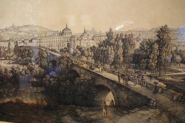 Ancien pont de la Guillotière à Lyon