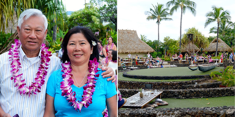 Parents at Old Lahaina Luau